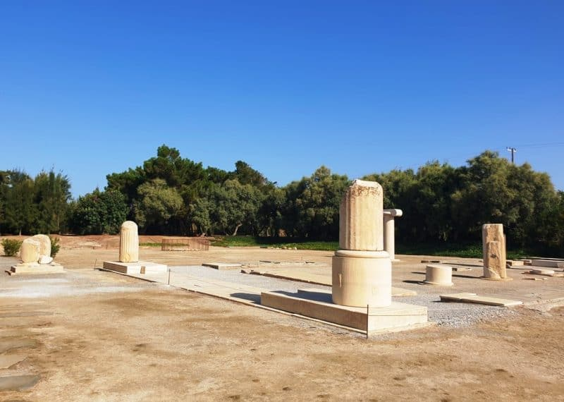 Ancient Temple of Dionysus at Iria - Things to do in Naxos