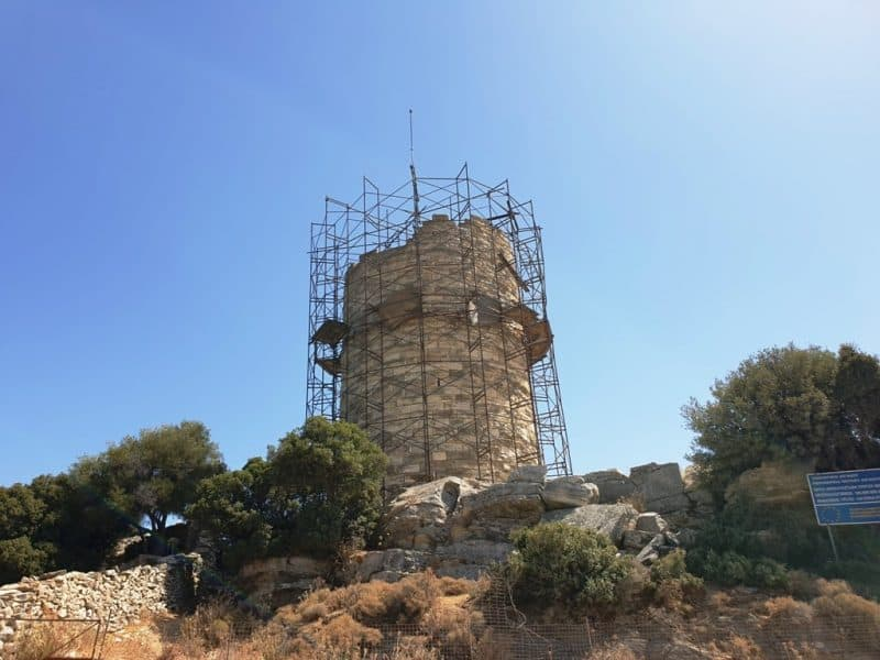Cheimarros Tower  - Things to do in Naxos