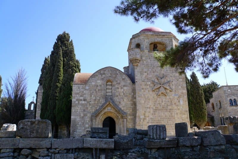 Filerimos Monastery - What to do in Rhodes Greece