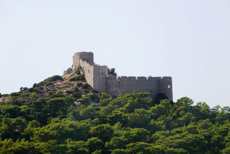 Castle of Kritinia - Things to do in Rhode Greece