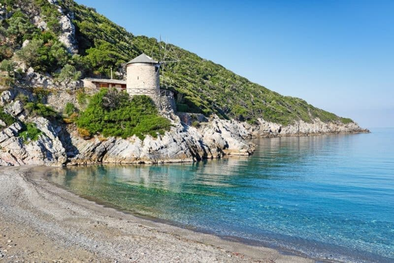 Yalia Beach - Alonissos best beaches
