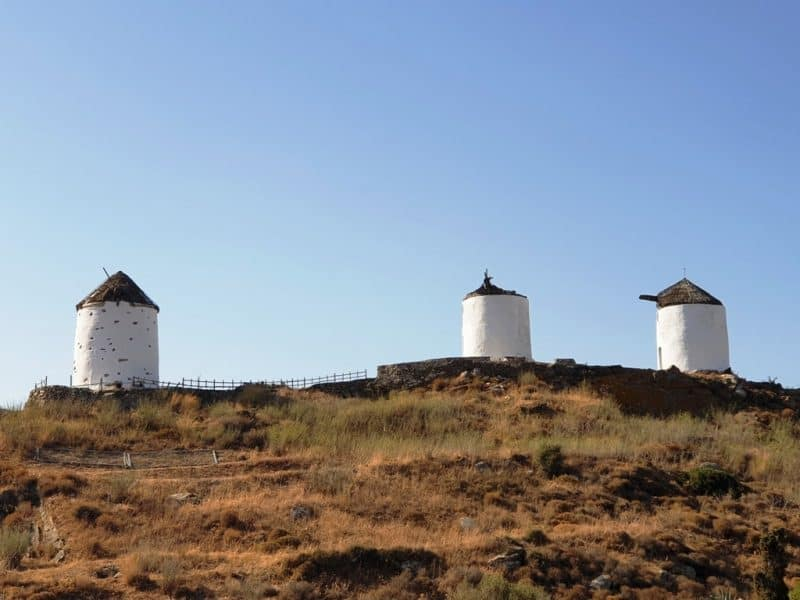 Windmills at Vivlos Village - Things to do in Naxos
