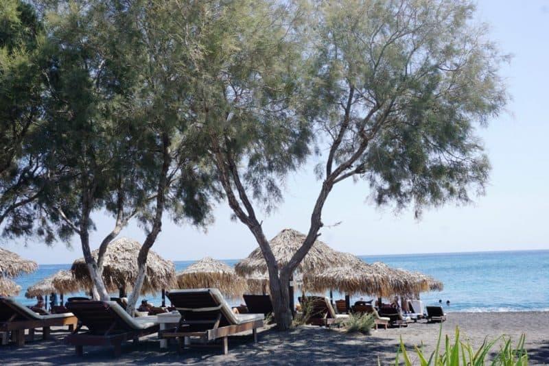 Ag Georgios Beach in Santorini