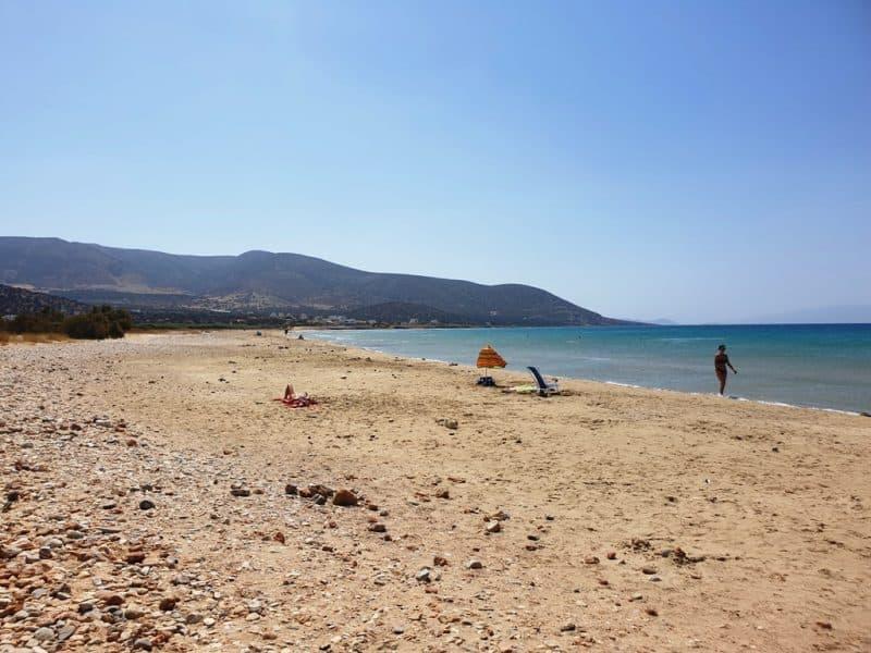 Agiassos Beach - Naxos Beaches