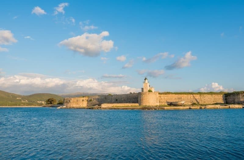 Visit the Castle of Agia Mavra - Things to do in Lefkada