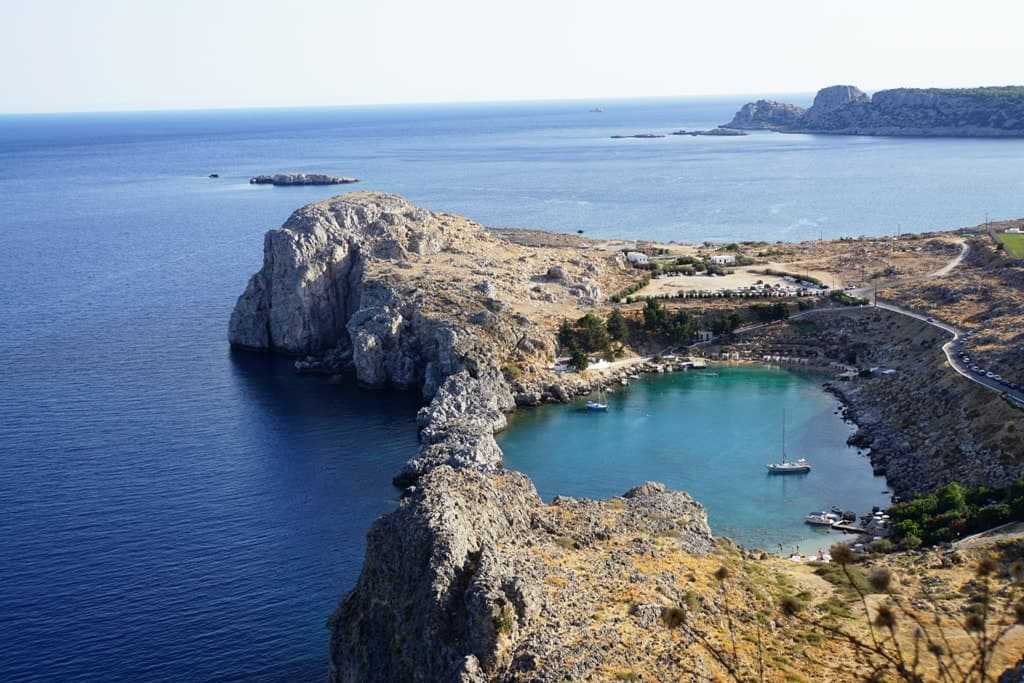 St Paul's Bay - Things to do in Lindos