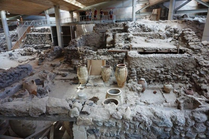 Akrotiri Archaeological Site - Greece itinerary
