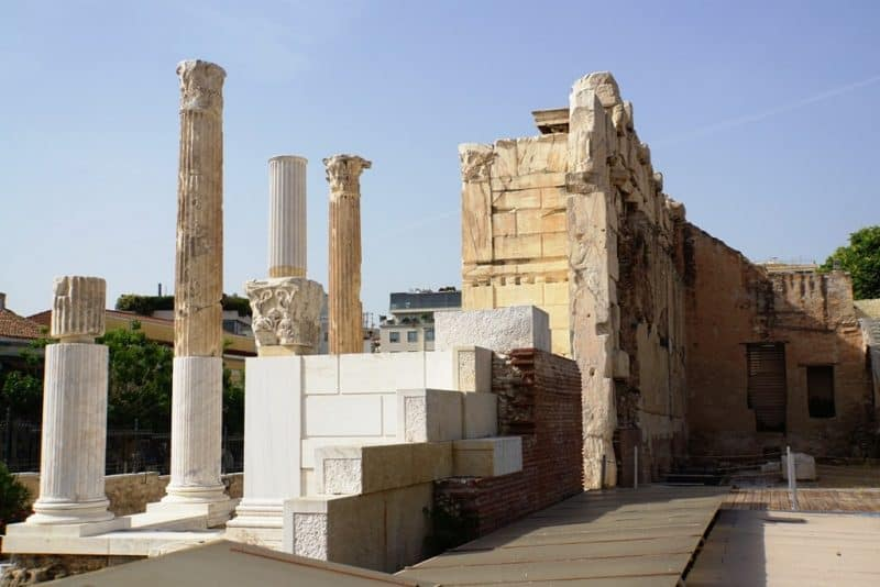 Hadrian's Library - Things to do in Athens