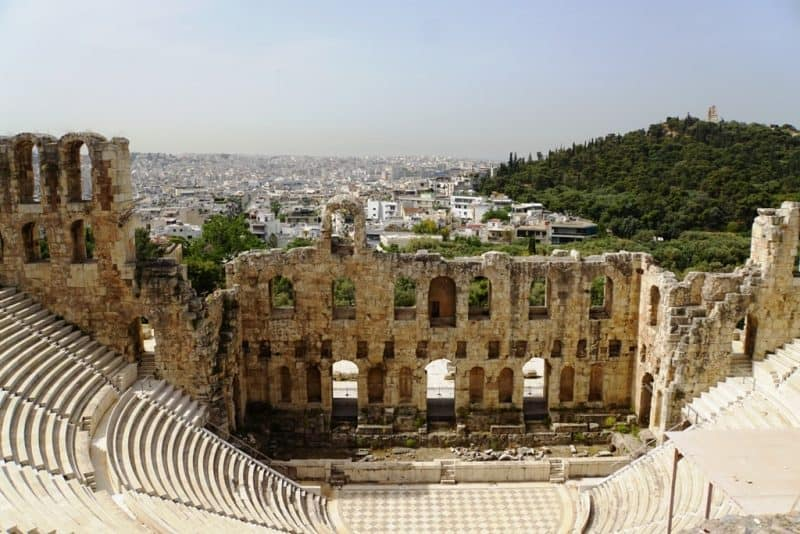 Odeon of Herodes Atticus - best things to do in Athens