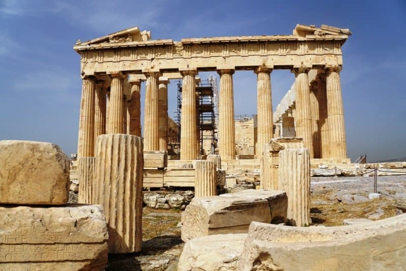 Acropolis is a must see in Athens