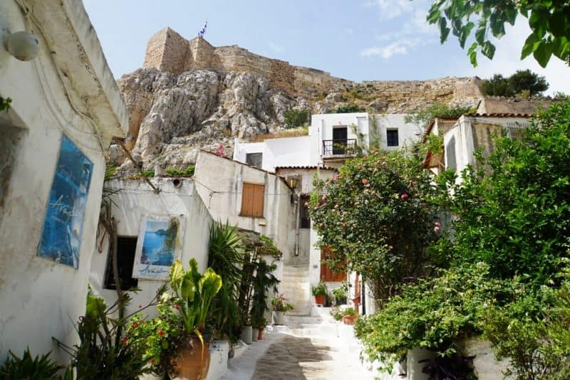 what to do in Athens - visit Anafiotika