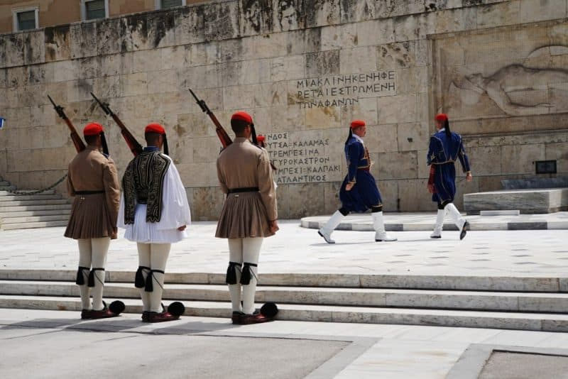 change of the Guards Syntagma Square