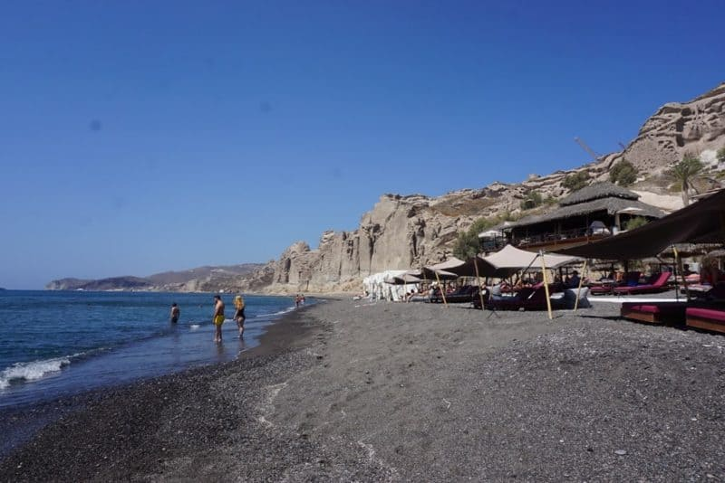 Eros Beach - Beaches in santorini