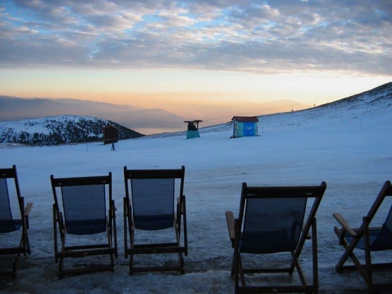 Kaimaktsalan Ski Centre Pella Greece