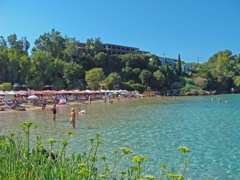 Kalogria Beach in Mani Greece