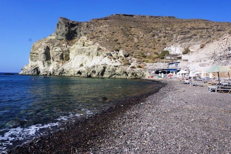 Kambia Beach - best beaches in Santorini