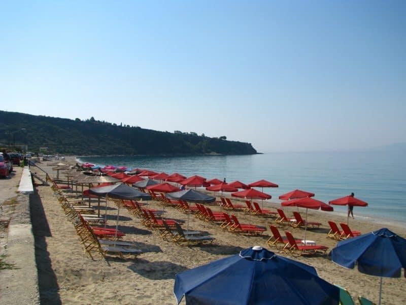 Lourdas Beach - Best beaches in Kefalonia