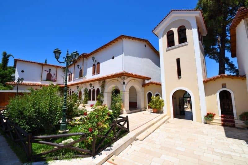 Monastery of Panagia Faneromeni - Things to do in Lefkada Greece