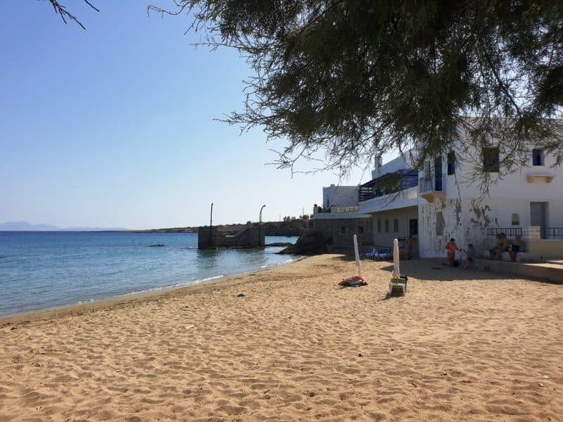 Moutsouna Beach - Best beaches in Naxos