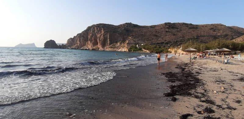 Plathiena Beach Milos