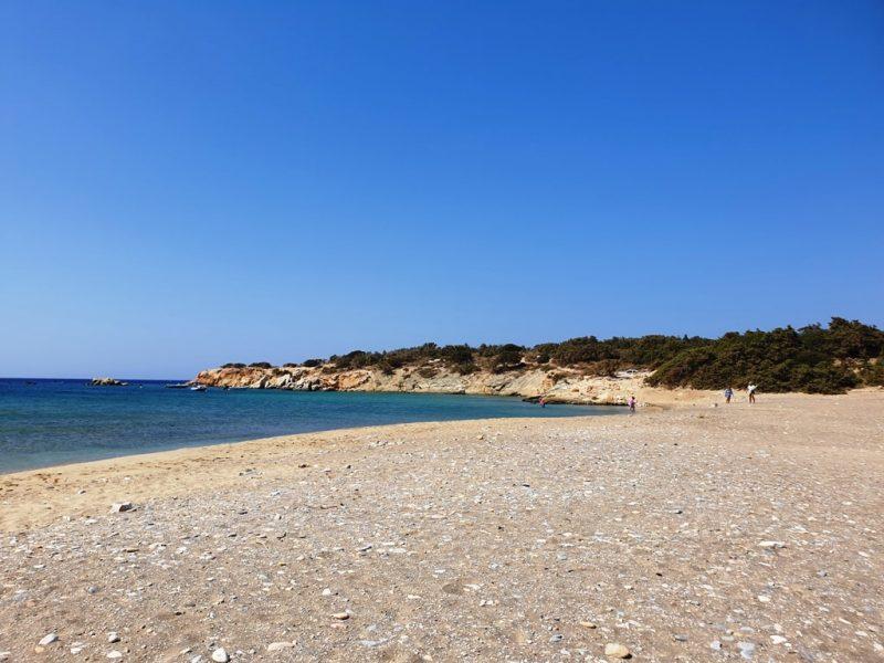 Pyrgaki Beach - Naxos beaches
