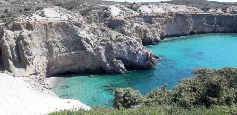 Tsigrado Beach Milos - Things to do in Milos