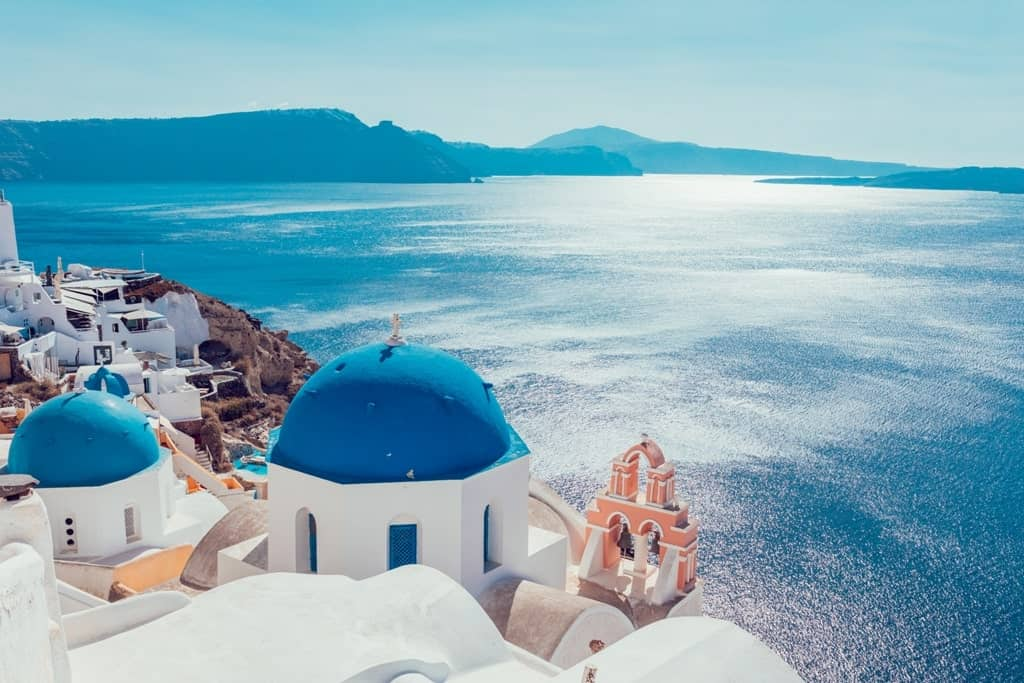 Santorini is a must see on a greece itinerary