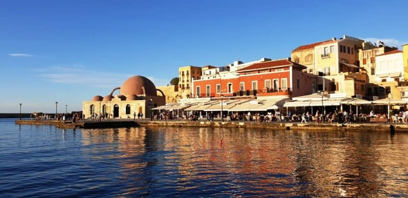 Chania Venetian Port - Crete Roadtrip