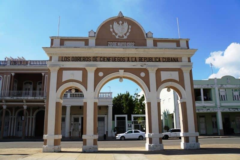 Cienfuegos in Cuba