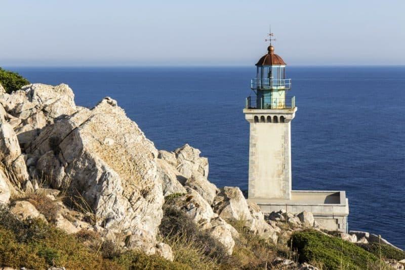 Light House in Cape Tenaro,Greece