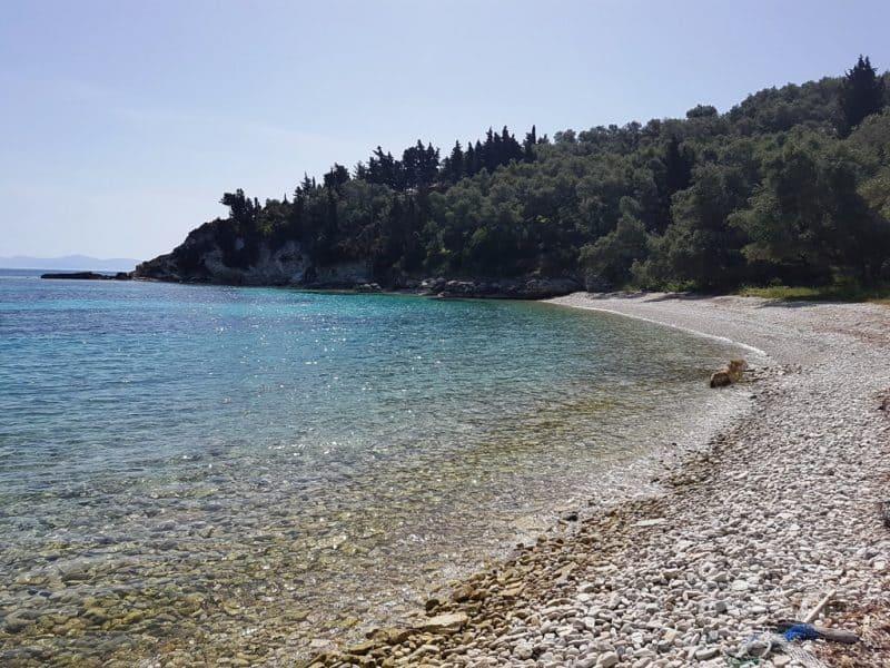 Marmari Beach Paxos