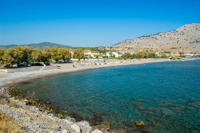 Lardos Beach in Rhodes