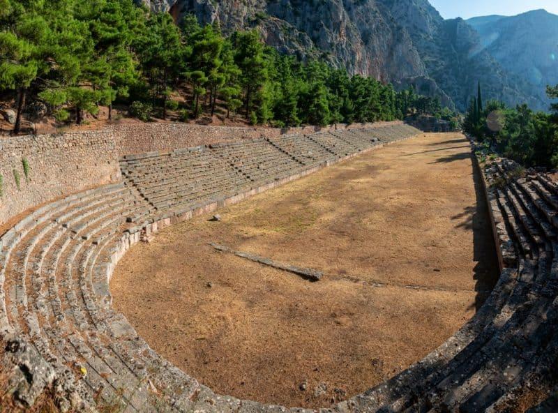 The Stadium of Delphi