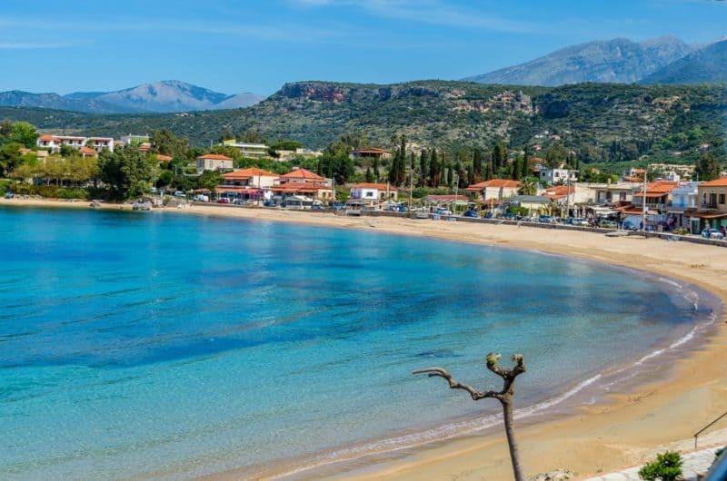 Stoupa is a seaside village of Mani