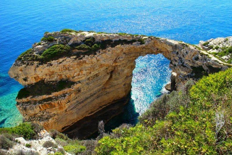 Tripitos Arch - Paxos Island