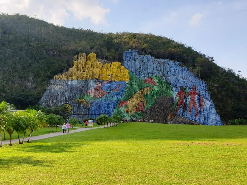 Mural de la Prehistoria - Cuba itinerary