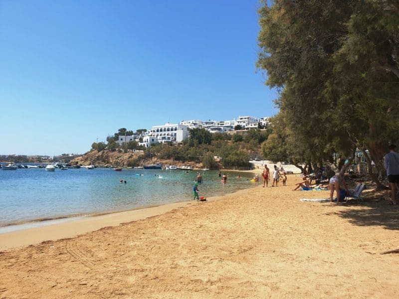 Piso Livadi - best paros beaches