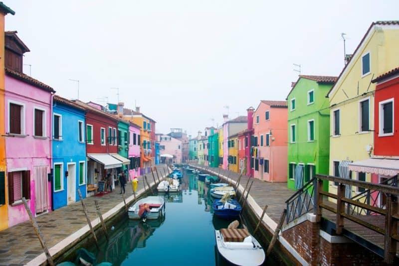 Murano Island in winter - Venice in winter
