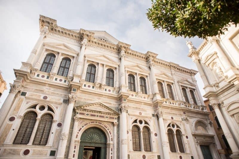Scuola Grande di San Roco - Venice in winter