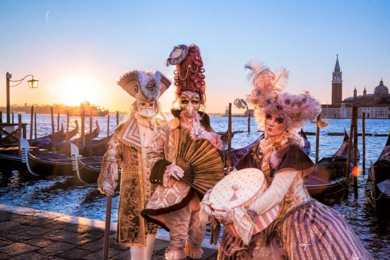 carvival of Venice - Venice in winter