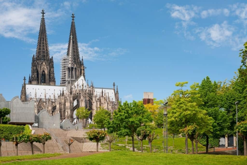 one day in Cologne Germany