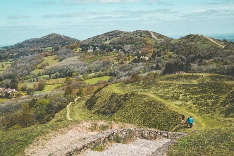 Malvern Hills Southern England