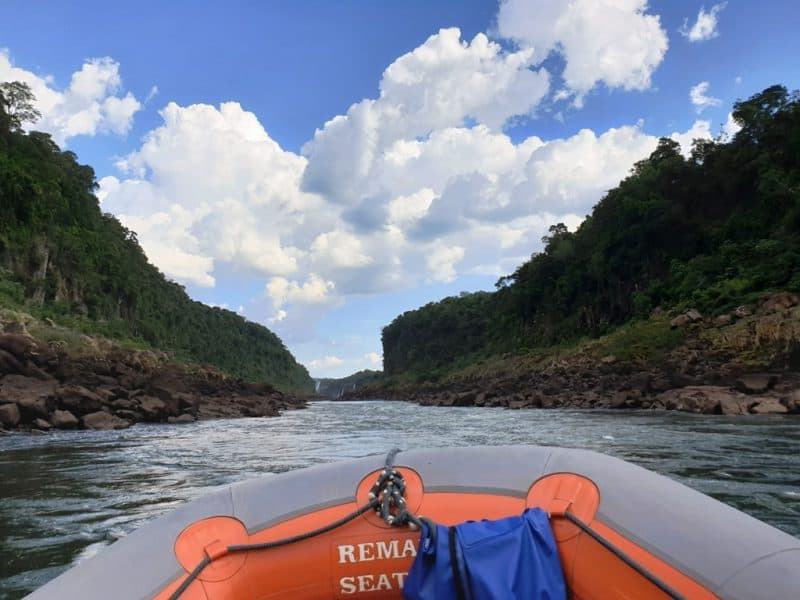 Macuco Safari in Iguazu falls Brazil
